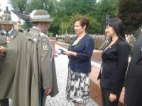 Posłanka Renata Butryn otrzymała medal za zasługi dla Wojska Polskiego