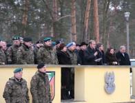 Minister Klich uczestniczył w przyjęciu żołnierzy do służby zawodowej