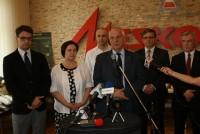 Wizyta posłów Komisji Obrony Narodowej w Zakładach Mechanicznych Mesko.