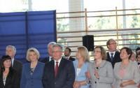 Prezydent Bronisław Komorowski z wizytą na Podkarpaciu.