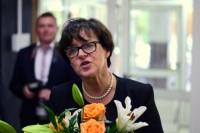 Minister Edukacji Narodowej Joanna Kluzik-Rostkowska w Stalowej Woli
