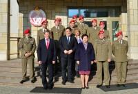 Wizyta w Komendzie Głównej Żandarmerii Wojskowej