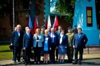 Wizytacja Komisji Obrony Narodwej w Kazuniu.