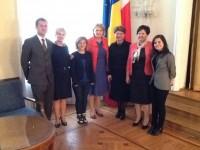 Wizyta w Ambasadzie Rumunii.