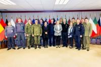 Delegacja Komisji Obrony Narodowej w Brukseli.