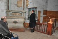 Ołtarz w Kościele Św. Anny w Zaklikowie - odrestaurowany